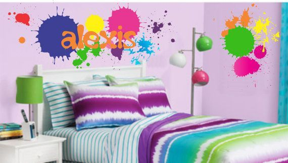 11 Best Emma S Artist Paint Splatter Room Images On
