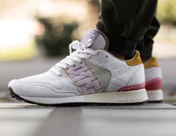 Garbstore x Reebok Classic Leather WhiteJaditePurpleCoral