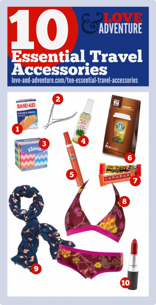 For Travel: 10 Essential Travel Accessories