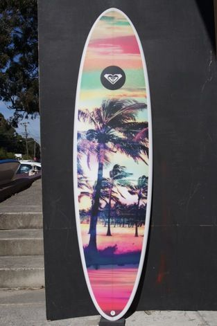 New Roxy Board by Brett Warner  Available at the Quiksilver Byron Store
