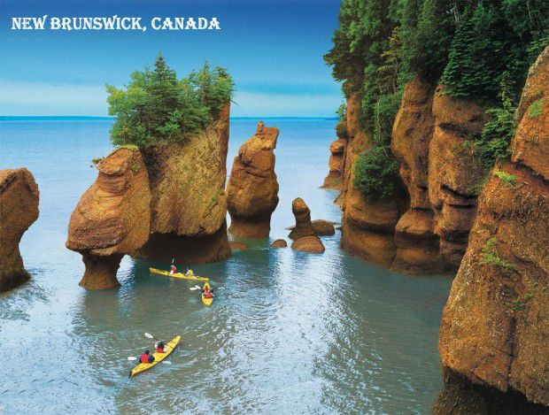 Travel to New Brunswick, Canada's one of the most beautiful place .. #visa #immigration consultant in Dubai  Syncvisas.com