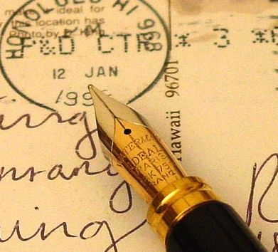Waterman fountain pens--the BEST!! I adore mine!!