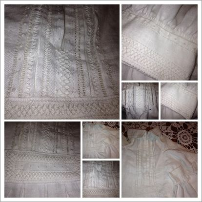 Women shirt #norwegian style,Eikenskjorte,  -til Vest agder bunad. hand made to my mother- <3