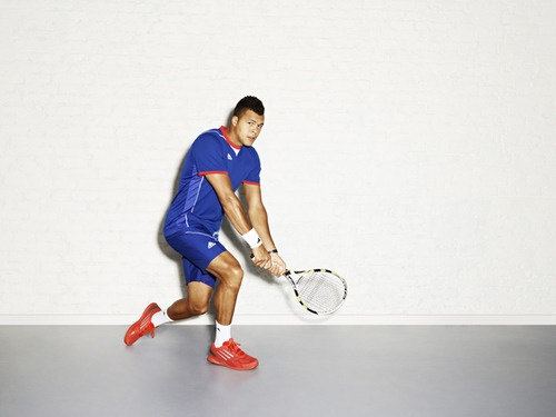 Jo-Wilfried Tsonga 2012 Olympics adidas outfit