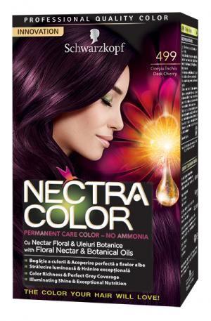 Vopsea de par nectra color 499 cireasa neagra