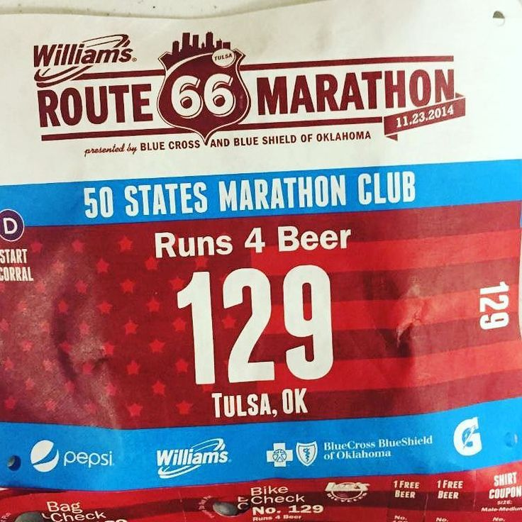 Deadline for Custom Bibs! We're less than two months out from race day! What does that mean to you? It means your personalized bibs corral seedings and race change deadlines are upon us!  At the Williams Route 66 Marathon you can be anyone you want to be on race day #Rt66run  if you register by 11:59 pm on September 30 that is! All participants who register before the deadline will be able to enter a nickname (or choose their legal name) for display on their race bib for each event. #Runchat…
