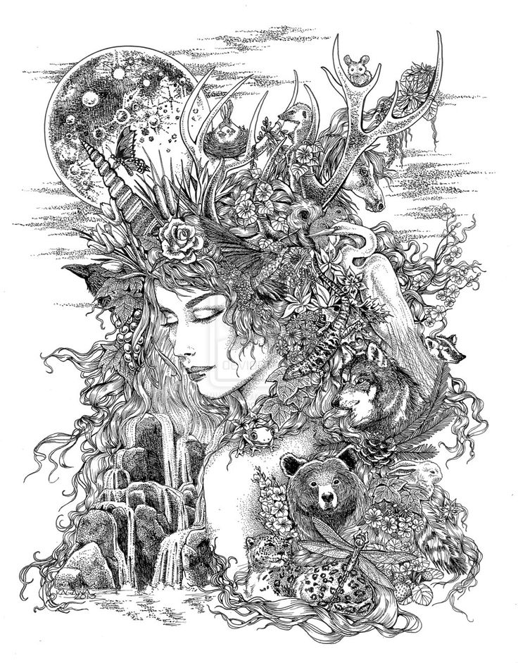25 Best Ideas About Mother Earth Tattoo On Pinterest
