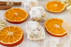 Pasticcini morbidi al cocco e arancia