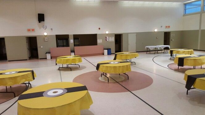 Minion Birthday Party Table