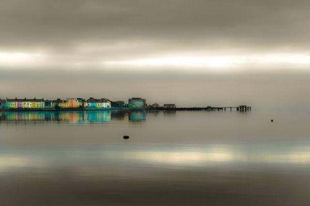 Beaumaris Pier near Llanfairpwllgwyngyllgogerychwyrndrobwllllantysiliogogogoch (that's a place in Wales)