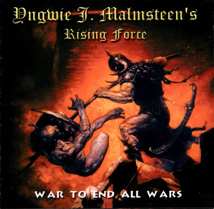 ultratop.be - Yngwie J. Malmsteen's Rising Force - War To End All Wars