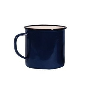 Falcon Enamel 8cm Blue Mug: Amazon.co.uk: Kitchen & Home