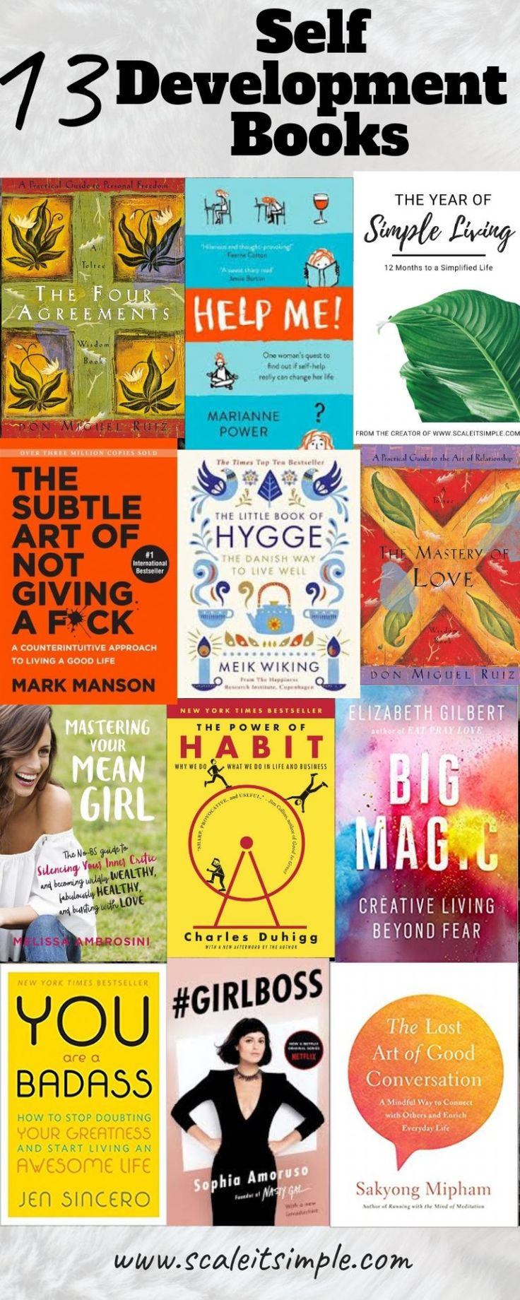 13 Self Development Books Everyone Should Read Once – ScaleitSimple - - Self-development is something that everyone can benefit from not just those going through a hard time. Making these self-development books helpful for all. Little Books, Good Books, Books To Read, My Books, Teen Books, Pranayama, Plymouth, Mantra, Hygge Book