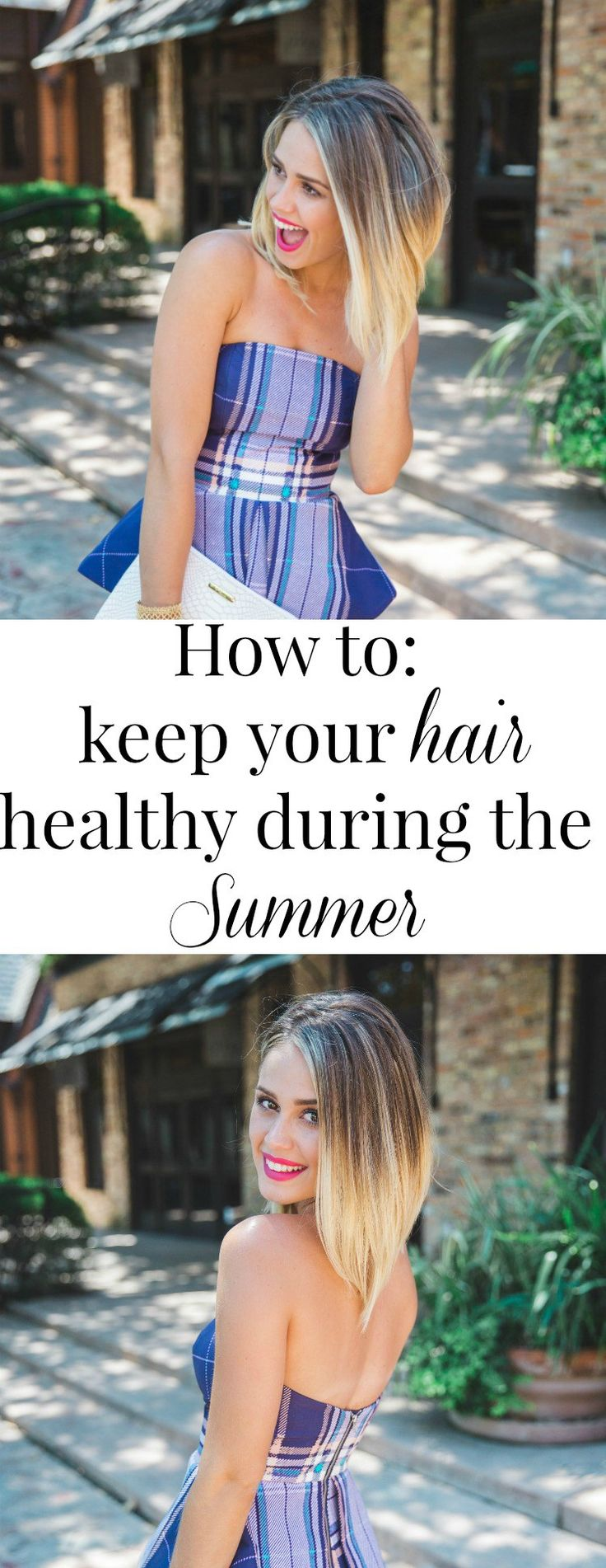 How to keep your hair healthy during the summer | Healthy Hair | How to keep your hair healthy
