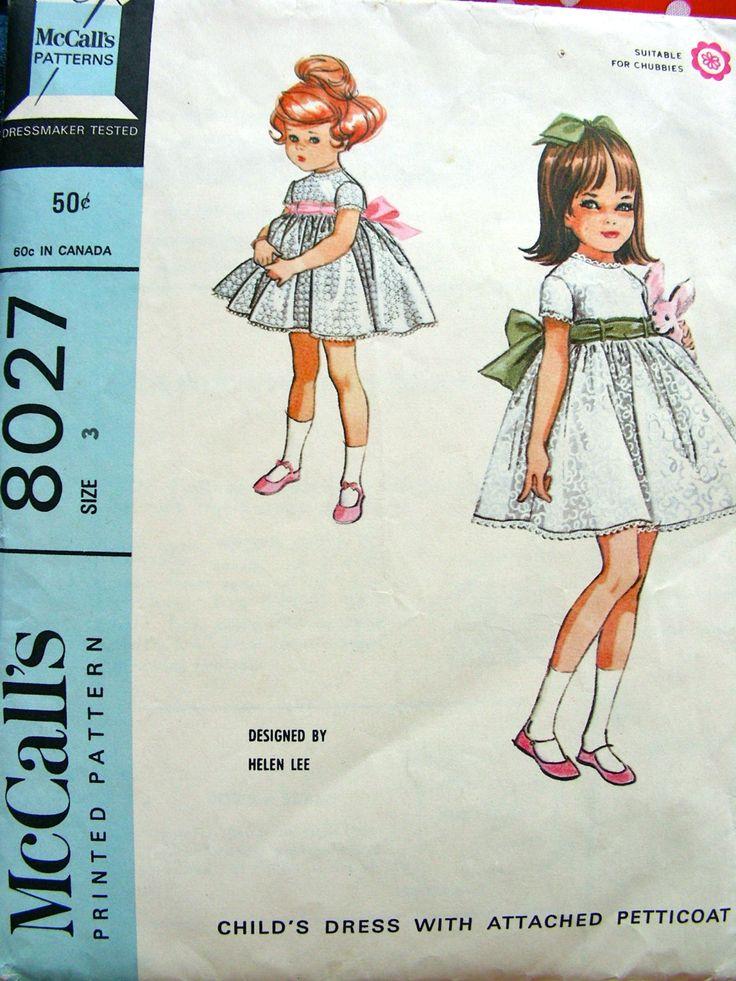 Helen Lee Designer McCalls Pattern 8027 // Toddler by anne8865