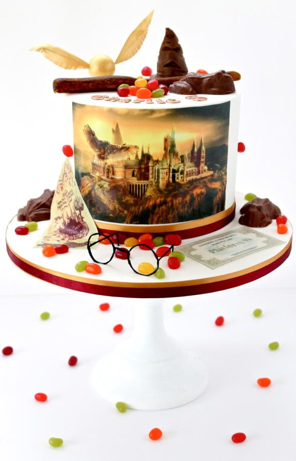 Harry+Potter+Cake+-+Cake+by+Sweetie+Darling-+Billie
