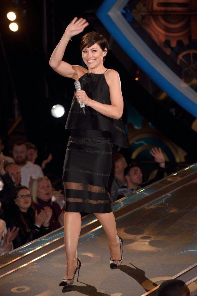 Emma Willis - Big Brother Launch Wardrobe | Saraden Designs