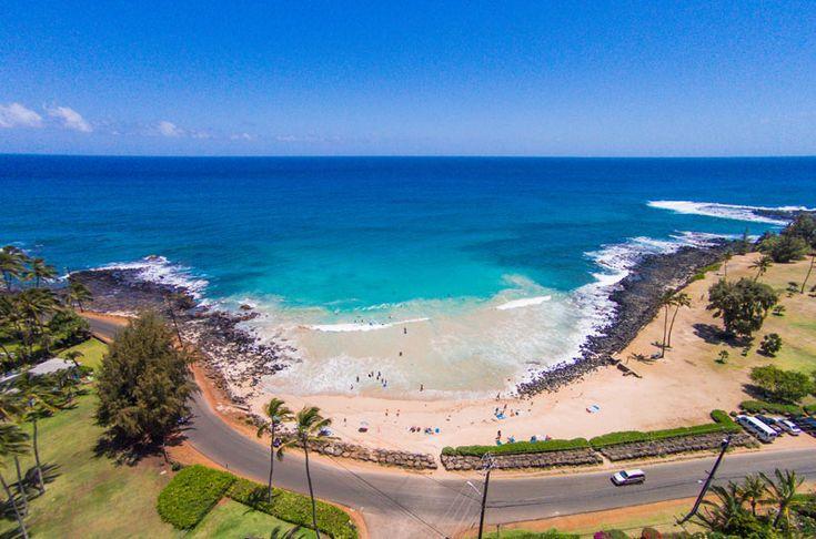 Brennecke's beach in Poipu is one of the best bodysurfing beaches on Kauai. Located next to Poipu Beach, this sand-bottom beach is a local favorite