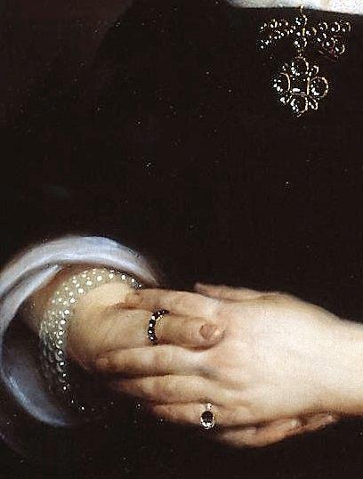 Portrait of a Lady by Cornelius Johnson, 1646