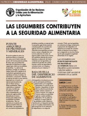 Hoja de datos: Las legumbres contribuyen a la seguridad alimentaria| FAO