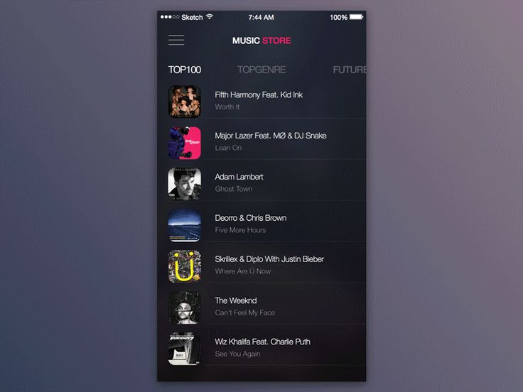 3d touch music store