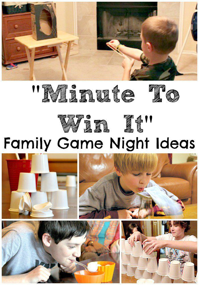 Dominos Pizza Night and Fun Family Games - In The Playroom