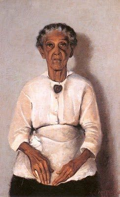 """Its About Time: African American Artist Archibald John Motley, Jr 1891-1981, """" My Grandmother"""", 1922"""