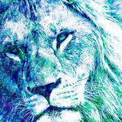 The Blue Lion Copyright © 2015 Stacey Chiew. All rights reserved.