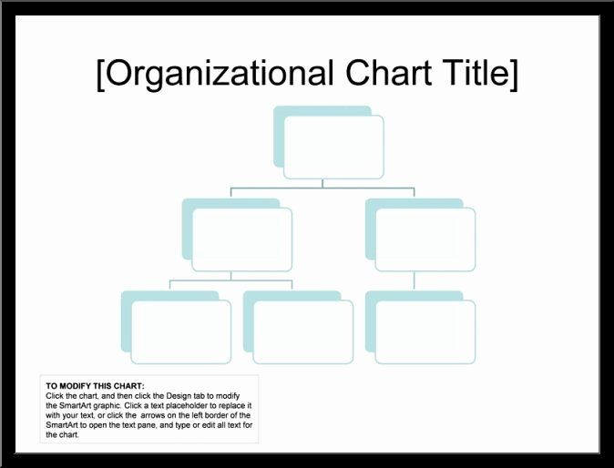 Unique Blank organizational Chart Template in 2020 ...