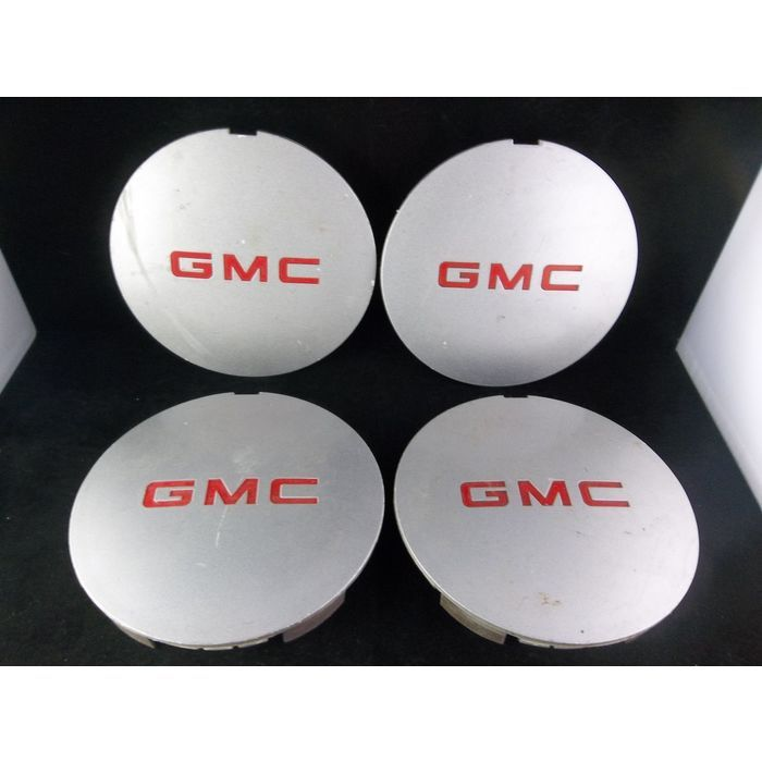 1994 1997 Gmc Sonoma Jimmy Silver Wheel Center Caps Set Of 4 Oem