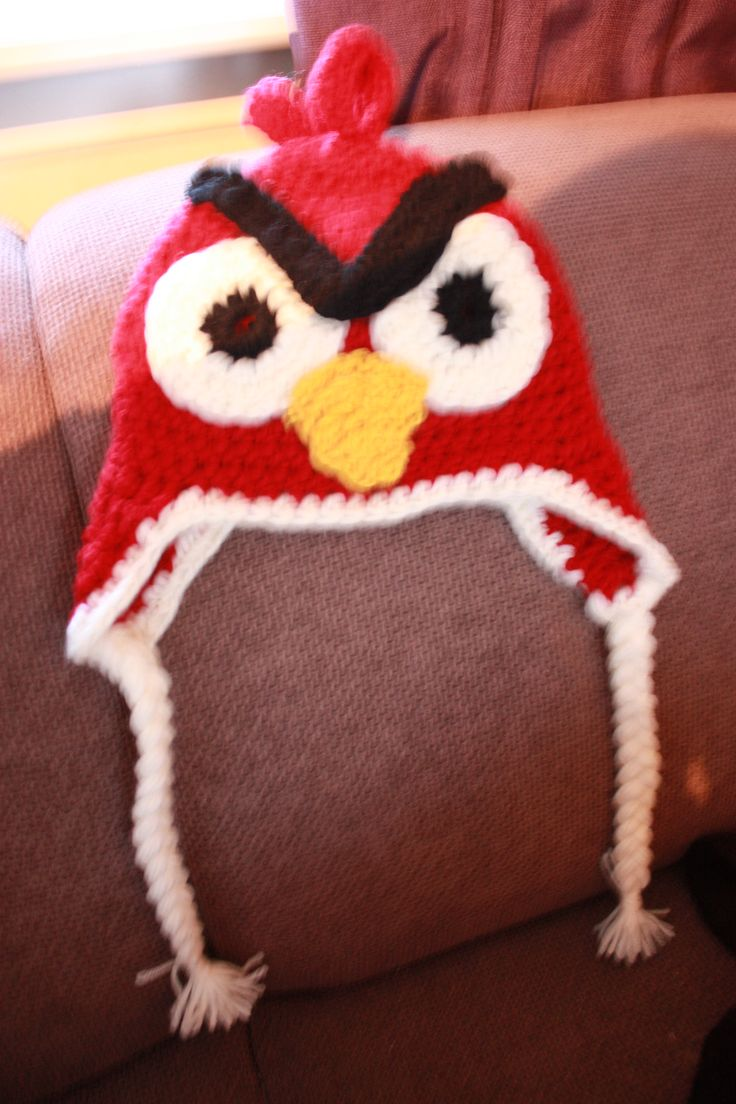 Angry bird with flaps,