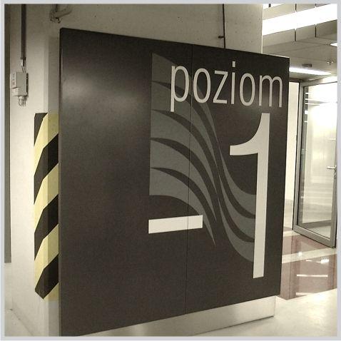 Rondo1 - Warszawa - Tablica poziom -1 - www.vds.com.pl