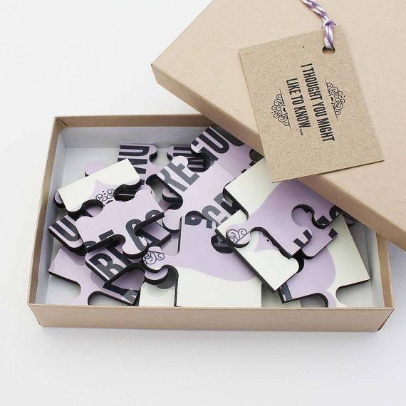 Personalised Pregnancy Announcement Jigsaw by LouBrownDesigns
