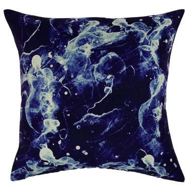 Cushion Cover - Royal Blue Sea Foam