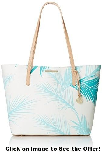 Brahmin Avenue Tote Travel Tote, Turquoise, One Size