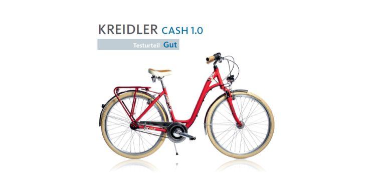 """ROWER KREIDLER CASH 1.0 NA TESTACH Według redakcji niemieckiego magazynu rowerowego """"aktiv Radfahren"""" (nr 01-02/2016) Kreidler Cash 1.0 to świetny jednoślad do codziennej jazdy. Do jego największych atutów zaliczono nawiązujący do stylistyki retro wygląd oraz system hamulcowy. Testujący zaznaczyli w recenzji, że Cash to ciekawa a także zapewniająca wysoki komfort propozycja skierowana do osób szukających roweru do codziennej jazdy głównie po drogach miejskich. Więcej: bit.ly/1Lp9NoM"""