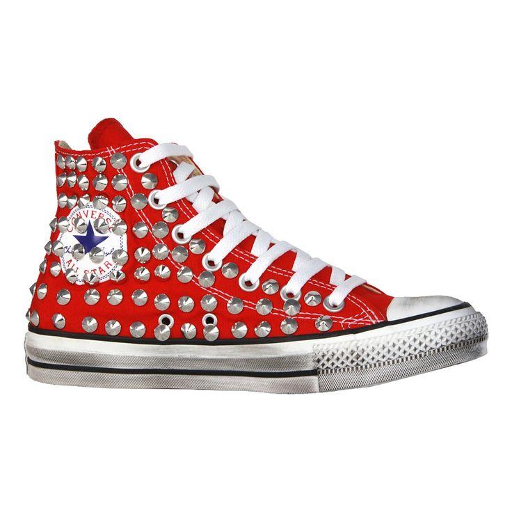 Pin su Converse All Star Borchie