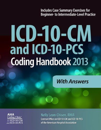 Best 67 coding images on pinterest icd 10 cm and icd 10 pcs coding handbook 2013 ed fandeluxe Gallery