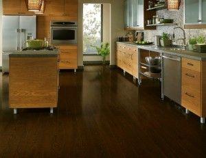 Wenge dark hardwood flooring laminate