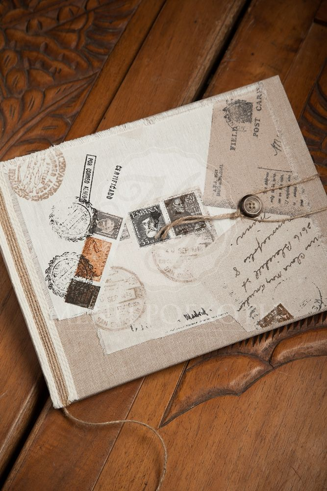 Vintage style guest boook#guest book#wish book