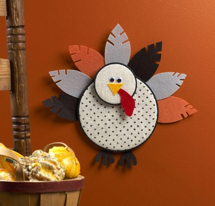 Embroidery Hoop Turkey #thanksgivingcraft