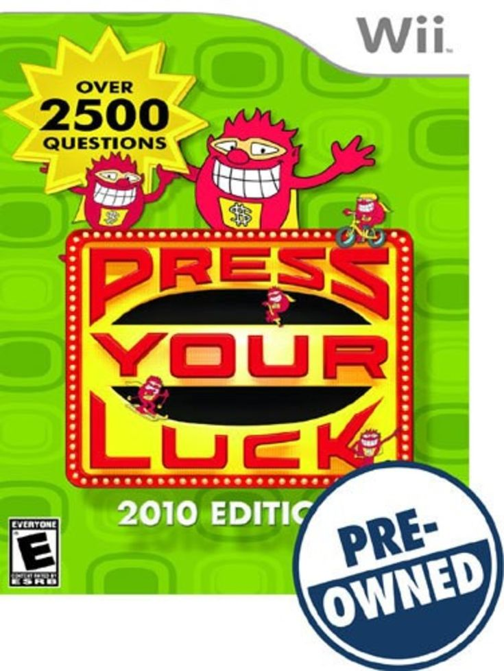 Press Your Luck 2010 Edition — PRE-Owned - Nintendo Wii