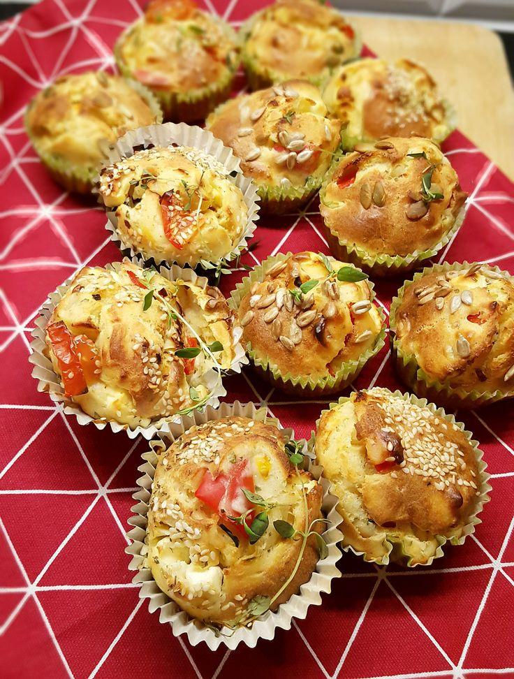 Matmuffins är ett gott tilltugg till soppan eller som en del av en buffé.