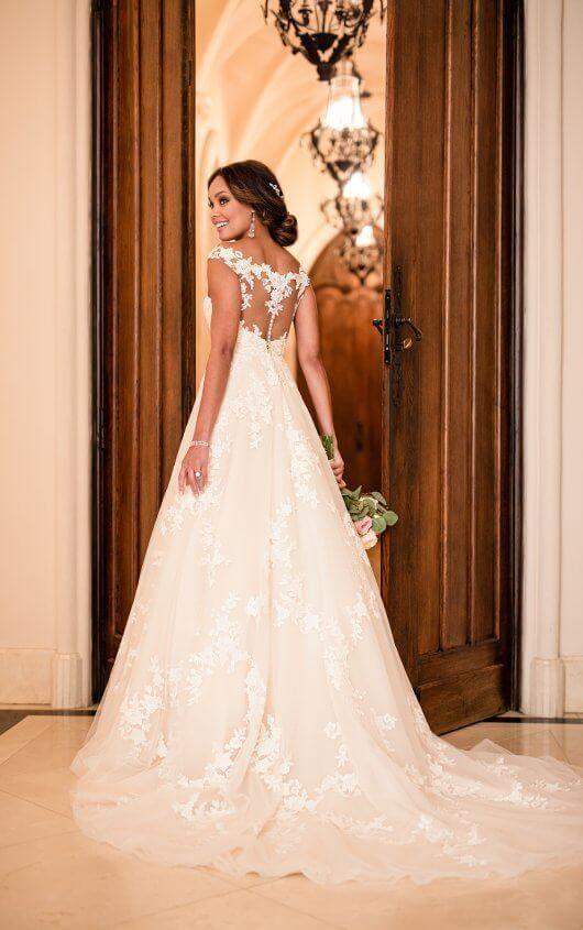 f4a7287231 6649 Garden-Inspired A-Line Wedding Dress by Stella York