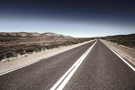 Australian outback Road by James  Harvie Photography Flinders Rangers