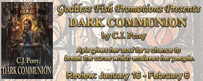 HURRY!! GIVEAWAY ENDS TONIGHT!! Come check out Dark Communion by C.J. Perry - Book Tour - Review - #giveaway on the blog!! @goddessfish   Fabulous and Brunette: Dark Communion by CJ Perry - Book Tour - Review - ...