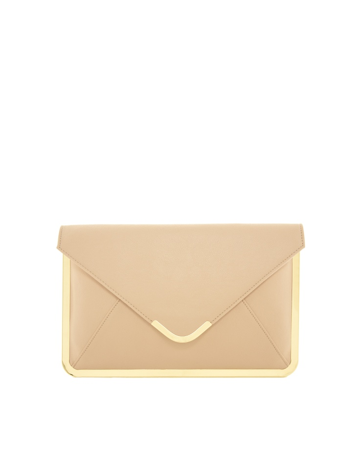 A Nude Clutch - perfect for the wedding guest. Best Dressed Wedding Guest