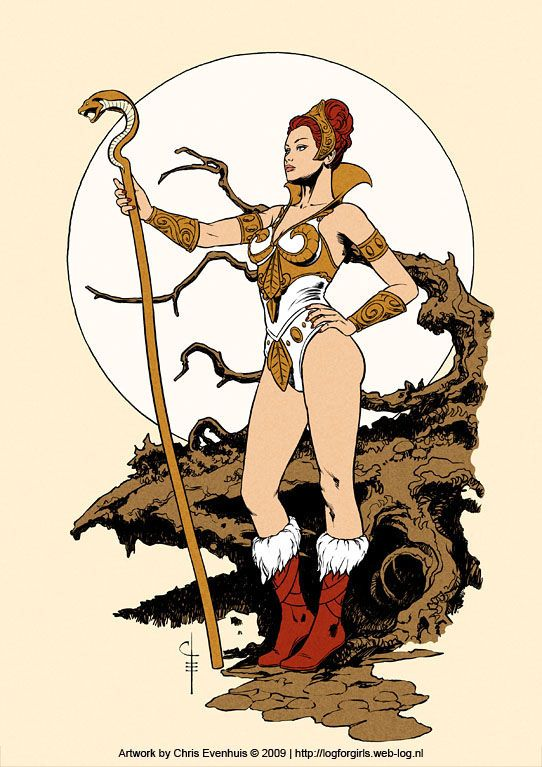 """Masters of the Universe """"Teela"""""""