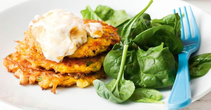These low kilojoule fritters are our choice for easy weeknight meals.