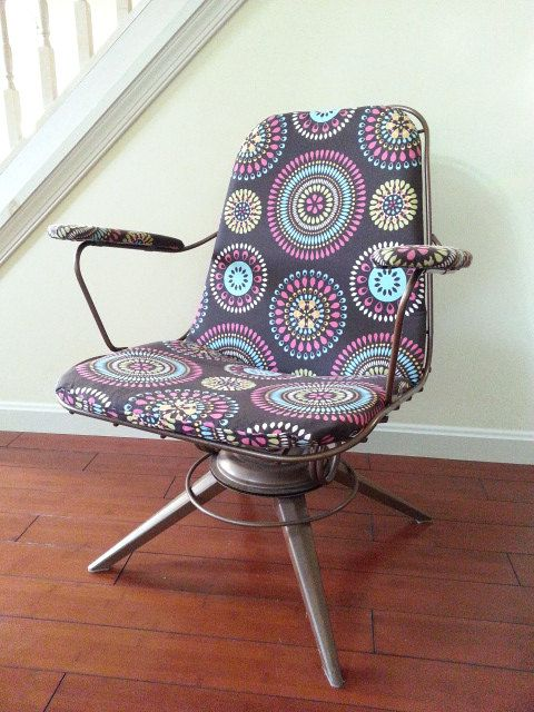 Chair Retro Mid Century Chair Homecrest 1960 S Eames Era